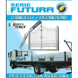 Cancelli e recinzioni prefabbricate serie futura forgifer for Serie futura cancelli
