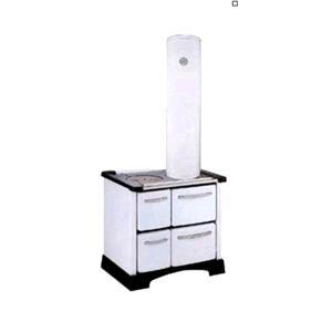 Soprastufa alto 100cm bianco diametro tubo 12cm per stufe for Tubo scaldabagno