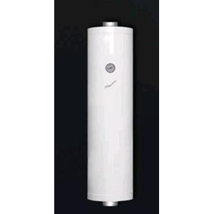 Scaldabagno per stufe a pellet h 100 bianco da 51 litri scalda acqua soprastufa scambiatore di - Stufa a legna acqua calda ...