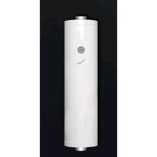 Scaldabagno per stufe a pellet h 100 bianco da 51 litri scalda acqua soprastufa scambiatore di - Stufe a pellet per termosifoni e acqua calda ...