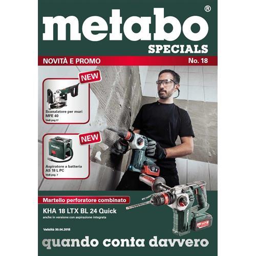 95a6d88e85 Volantino Metabo Elettroutensili Promozioni - Giornalino - volantini ...